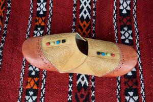 Moroccan Genuine Leather Babouche (Cherbil) - COMING SOON