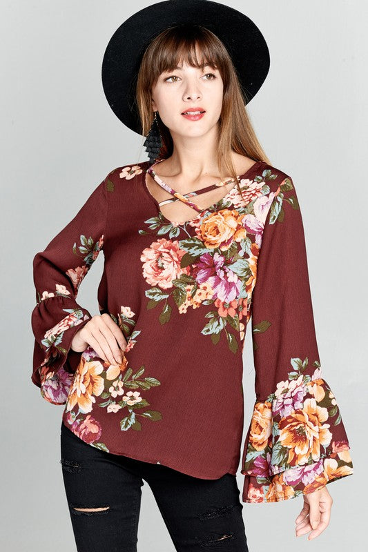 The Reese Floral Top