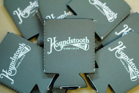 Houndstooth Game Calls Drink Koozies