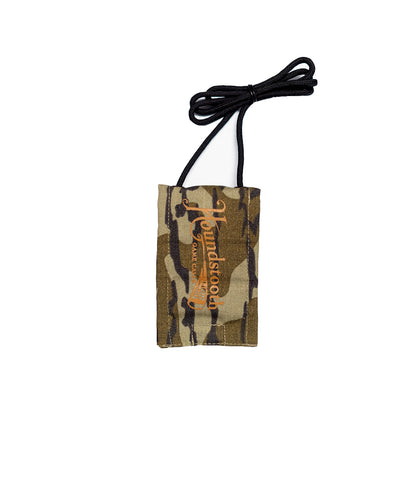 Houndstooth Custom Logo Bottomland Mouth Call Pouch