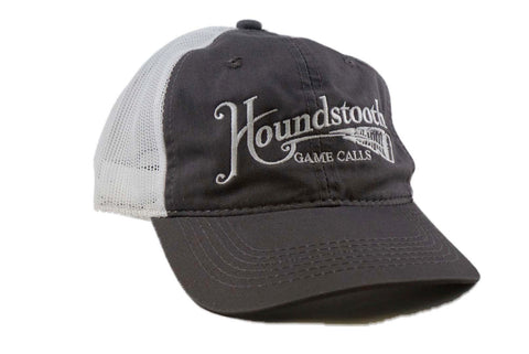 Houndstooth Grey / White Mesh Back Hat