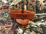 "Leather Turkey Tote the ""STRAP"""