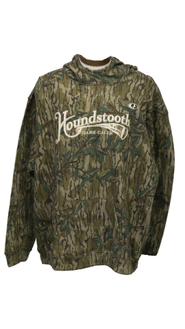Mossy Oak Green Leaf Old School Logo Hoodie