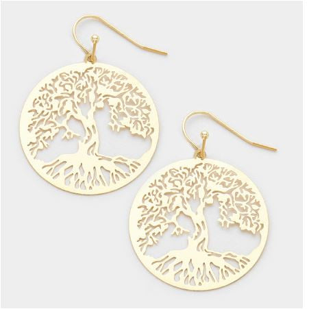 Earrings Tree of life