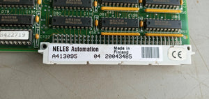 NELES AUTOMATION A413095,  CIRCUIT BOARD, USED
