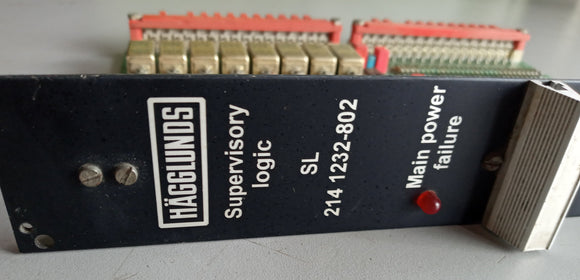 CRANE CONTROL CARD MacGREGOR HAGGLUNDS Superviory Logic SL 2141232-802,USED