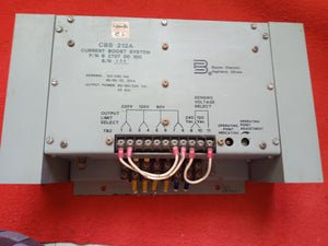 Basler CBS 212 A CURRENT BOOST SYSTEM P/N 9 2707  00  100