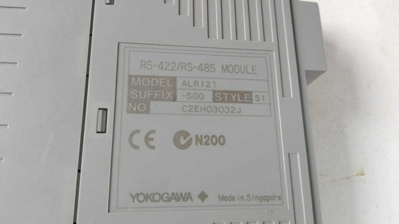 Yokogawa ALR121 -S00 S1 SERIAL COMMUNICATION MODULE RS-422/RS-485