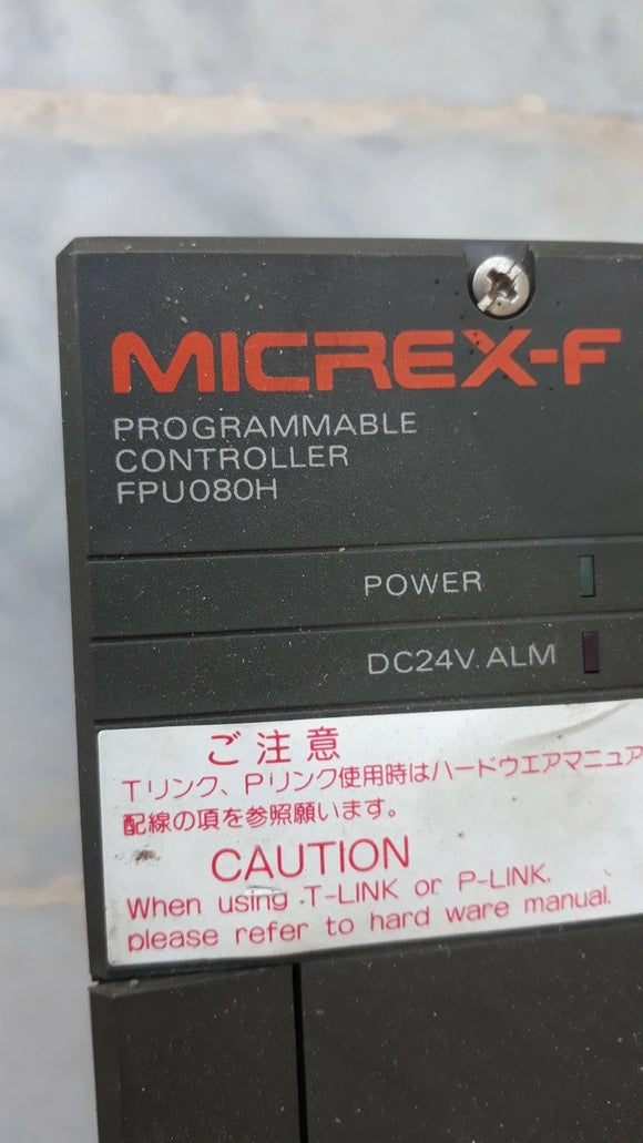 FUJI MICREX-F Processor Unit (CPU) 080h-G02-NK/Z004