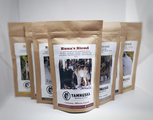 yamnuska wolfdog sanctuary tea collection