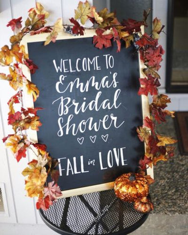 """Fall"" in Love: Planning an Autumn Bridal Shower - Bridal ..."