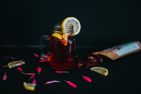 hibiscus lemonade iced tea
