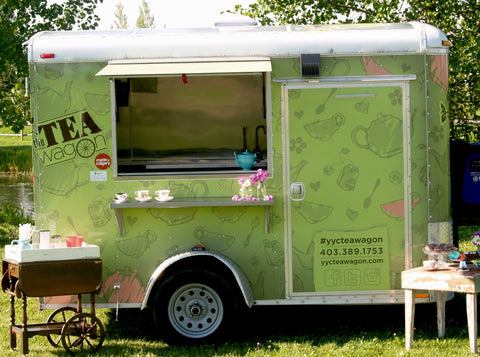 The Tea Wagon - Calgary's local cafe-on-wheels