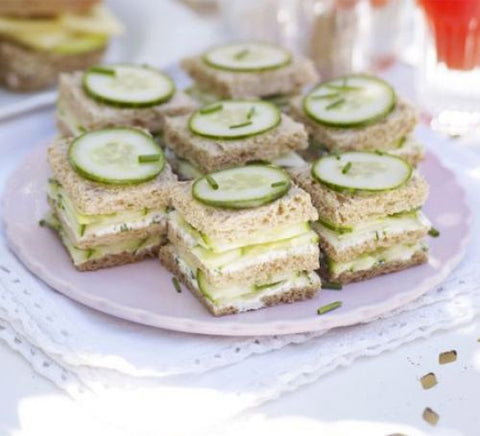 tea party sandwiches cucumber sandwiches recipes for afternoon tea