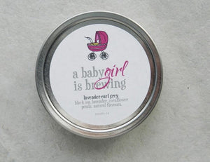 A Baby Girl is Brewing - Baby Shower Favour-Tearrific