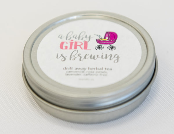 A Baby Girl is Brewing (Style #2) - Baby Shower Favour-Tearrific