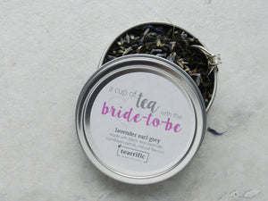 A Cup of Tea With the Bride to Be - Bridal Shower Favour-Tearrific