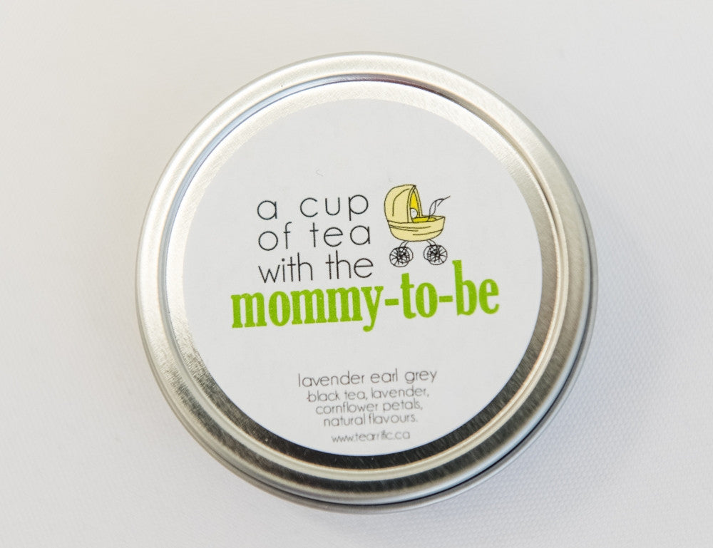 A Cup of Tea with the Mommy-To-Be - Baby Shower Favour-Tearrific