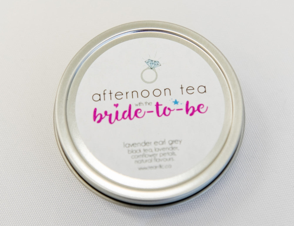 Afternoon Tea with the Bride to Be - Wedding Shower Favour-Tearrific