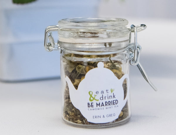 Eat, Drink, & Be Married Tea Favour-Tearrific