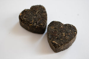 Pressed Tea Heart Favours-Tearrific