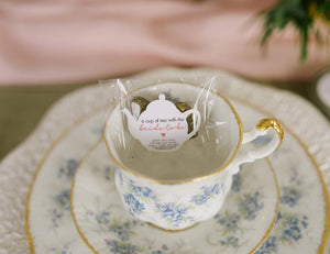 Pressed Tea Heart Shower Favours-Tearrific