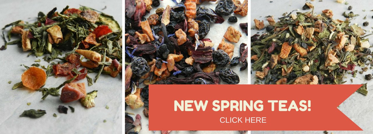 Spring 2017 teas have been released! Three new delicious flavours!
