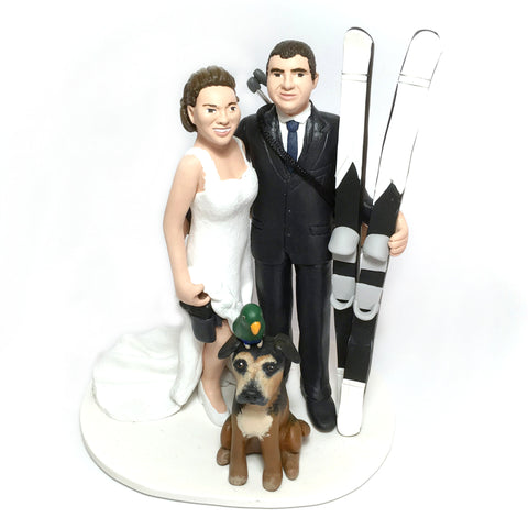 Realistic Custom Wedding Cake Topper