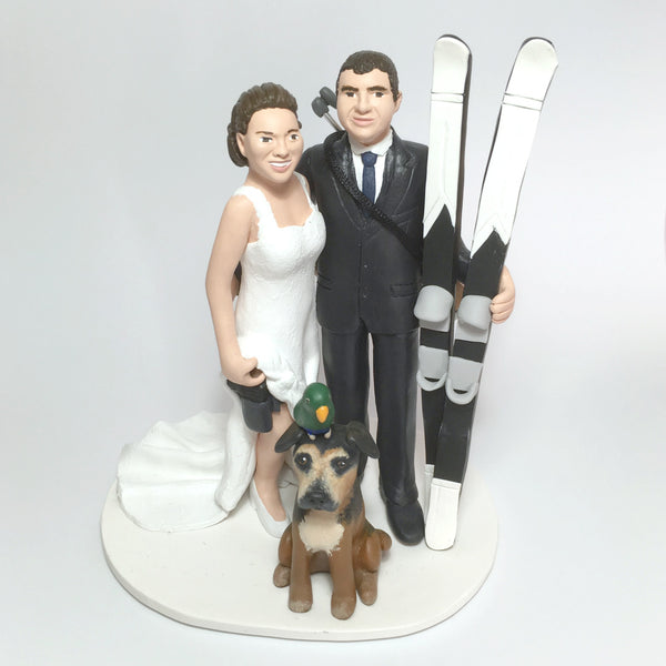 Realistic Personalised Cake Topper