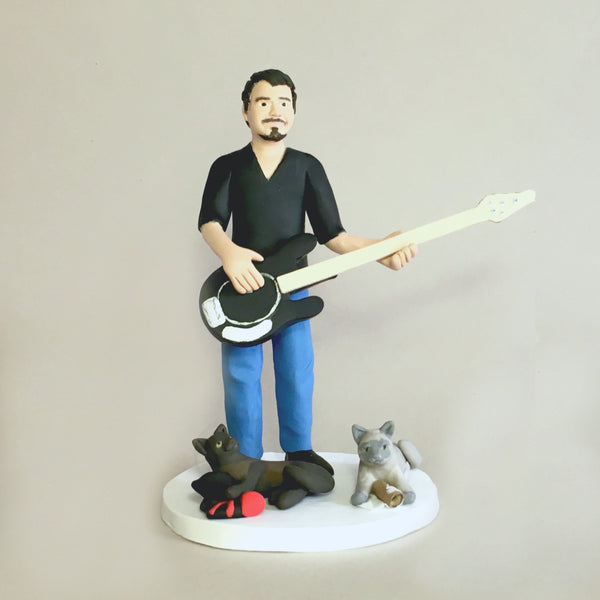 NEW Modern style Custom Figure Cake Topper