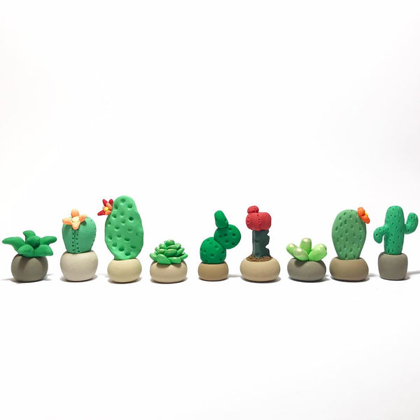 Starter polymer clay pack - Tiny Plant Maker