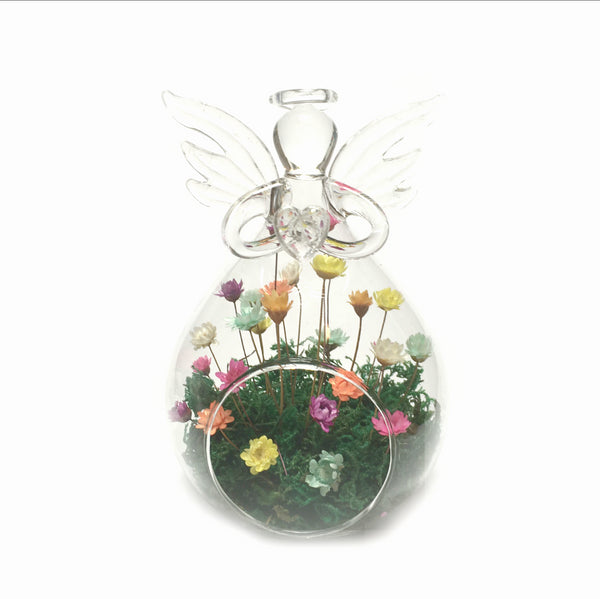 Guardian Angel Home Decor Tiny Garden Indoor Vase Flowers