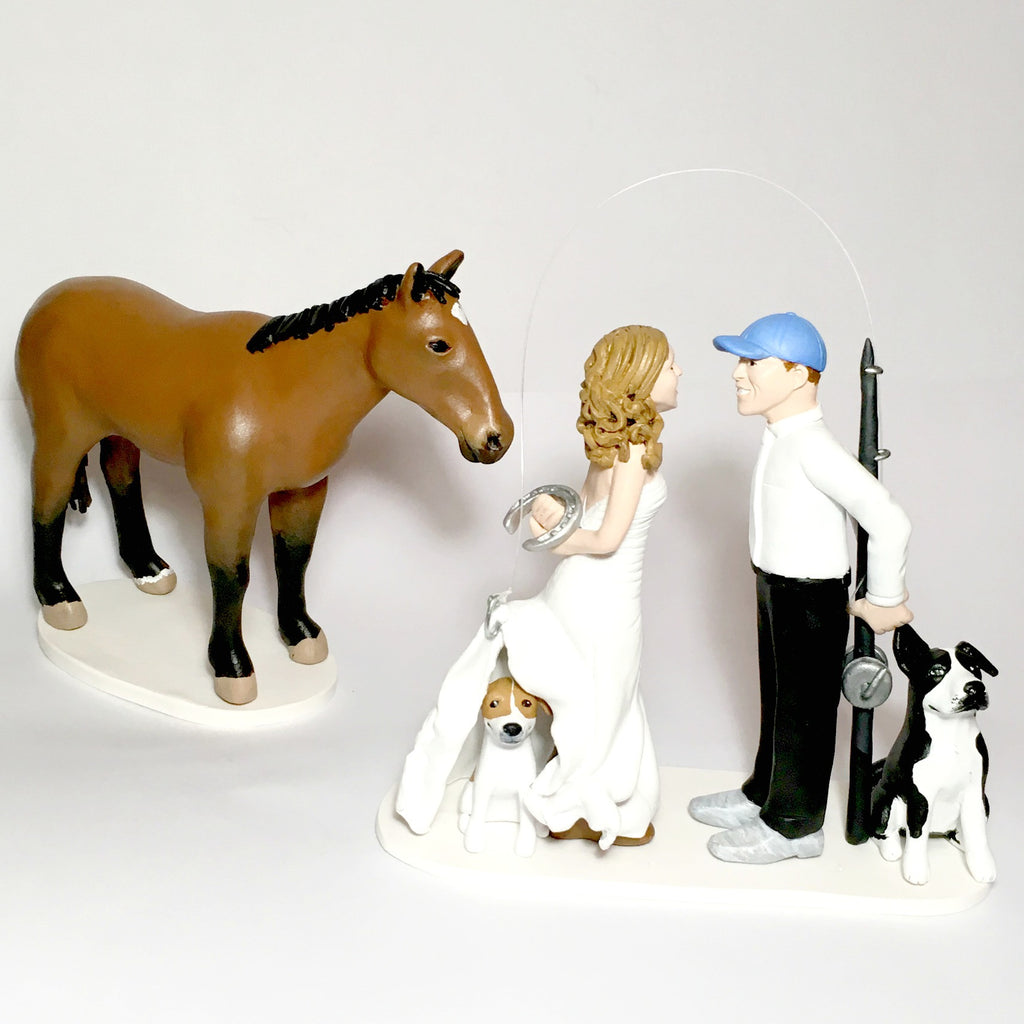 Personalised Custom Wedding Cake Figurines