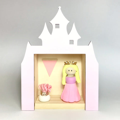 Princess Peg Doll (with house add on option)