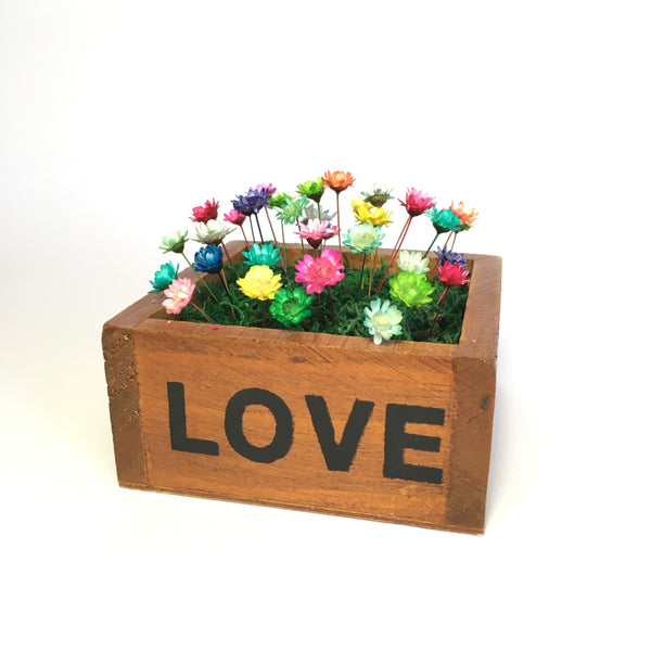 Wooden Love Box