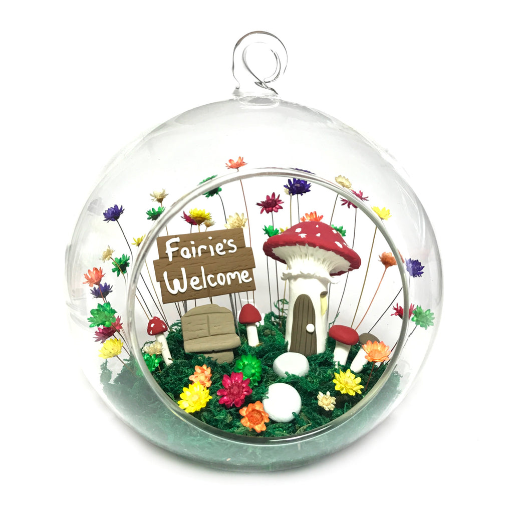 *NEW* Giant Globe  - Woodlands Fairy Garden