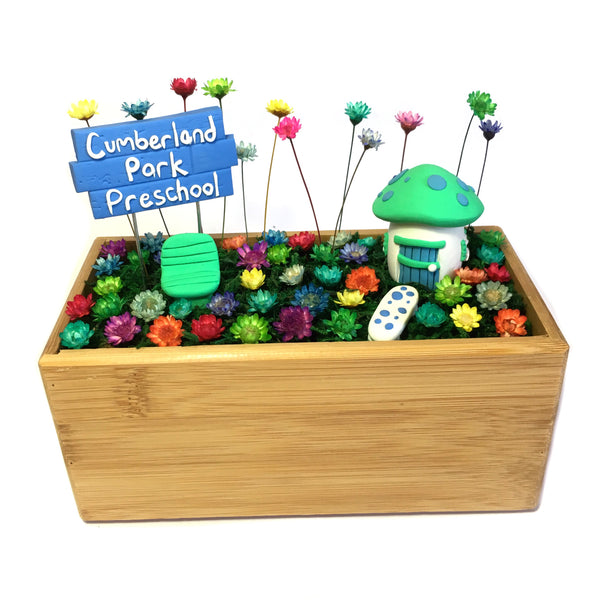 Popular Teachers Gift - Wooden Planter Garden