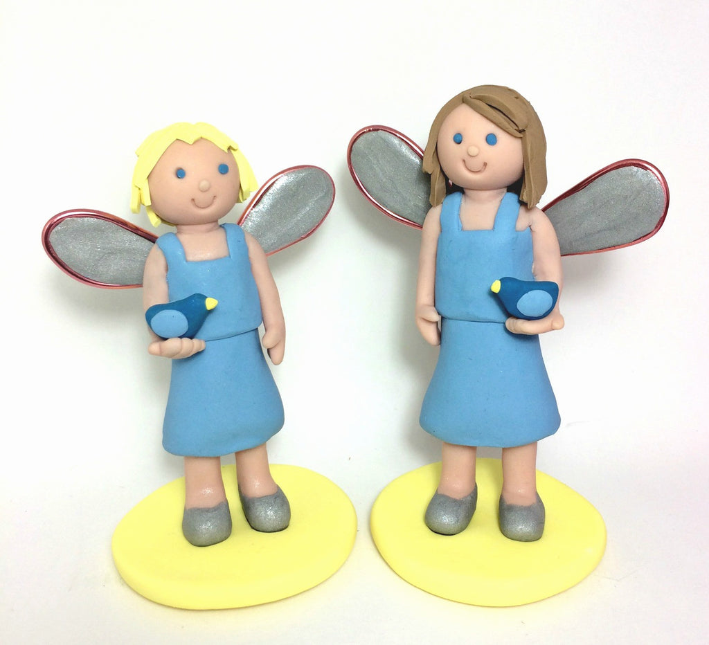 Fairy Birthday Cake Topper Custom Keepsake