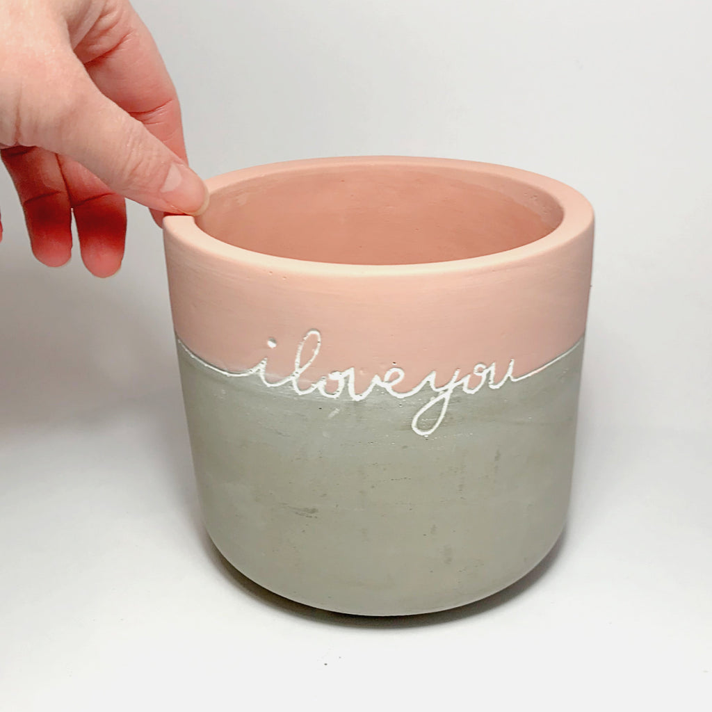 'I love you' Planter