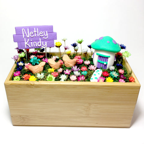 Teachers gifts - Wooden Planter Garden