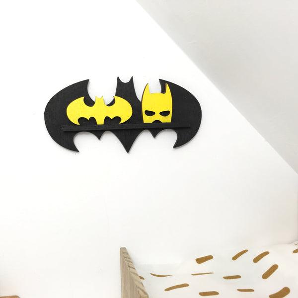 Bat shelf and decor