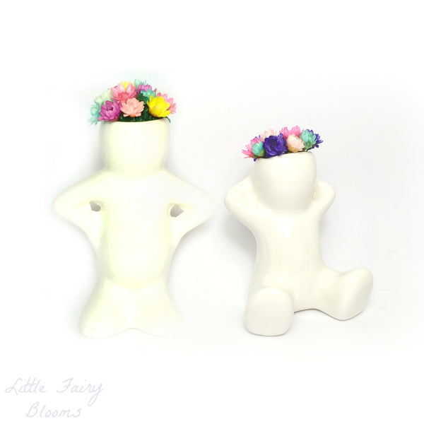 Little Fairy Bloom Desk Accessory Desk Plant Flower Decor