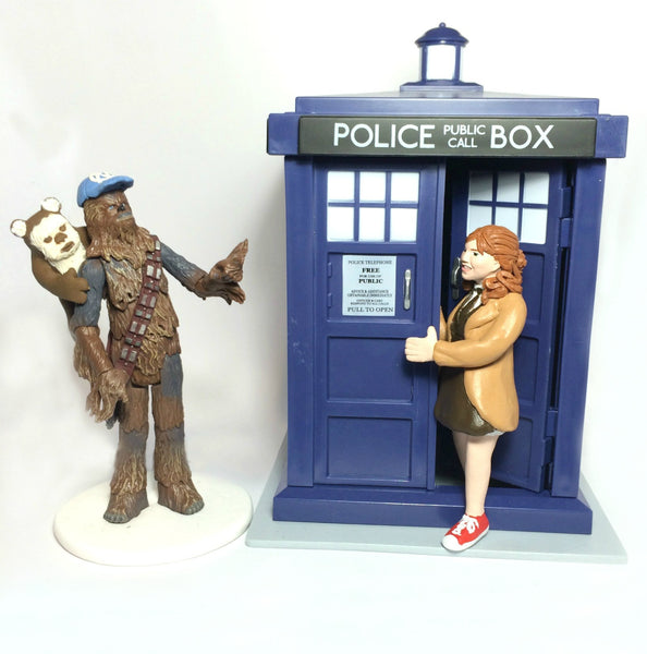 Tv Cult Classic Movie Character Custom Wedding Cake Topper Birthday Star Wars Dr Who