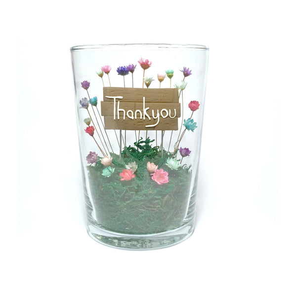 Unique Modern Gift for Girls Boys Couples Mum Dad Aunty Sister Best Friend mini indoor garden home decor terrarium love flowers