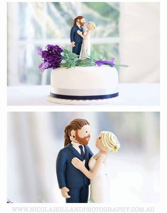 cartoon wedding cake toppers custom wedding cake topper thatlittlenook 12421