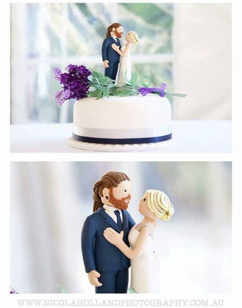 Keepsake Custom Wedding Cake Toppers