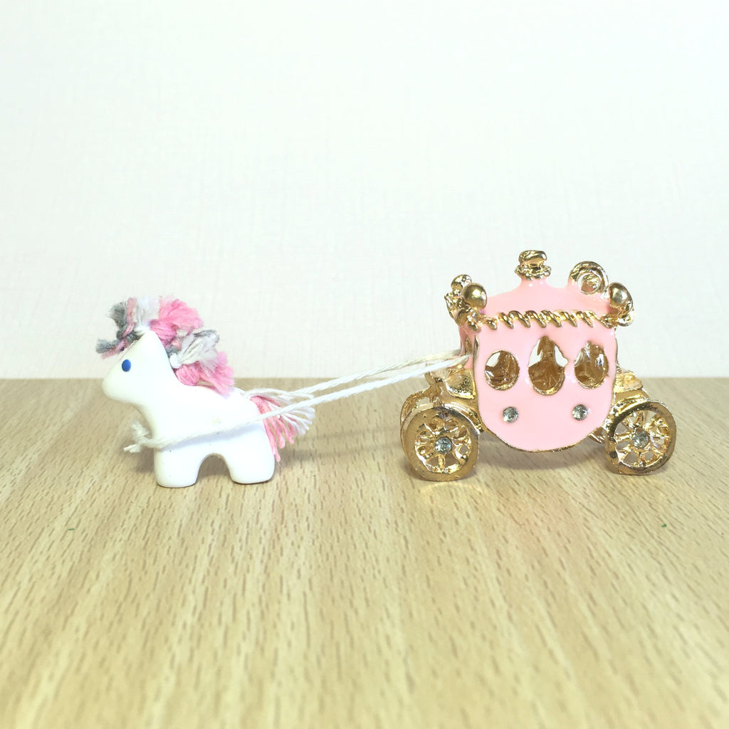 Miniature Carriage with Horse