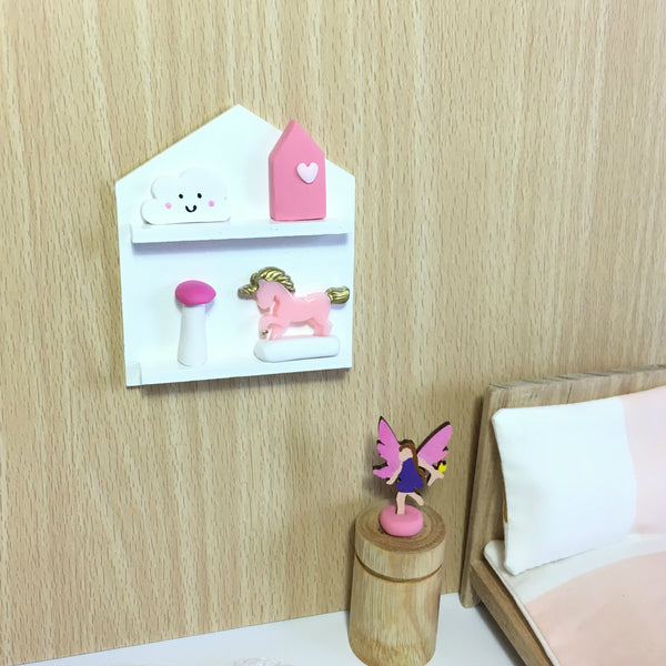 Miniature House Wall Shelf