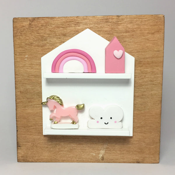 NEW Miniature Unicorn Decor