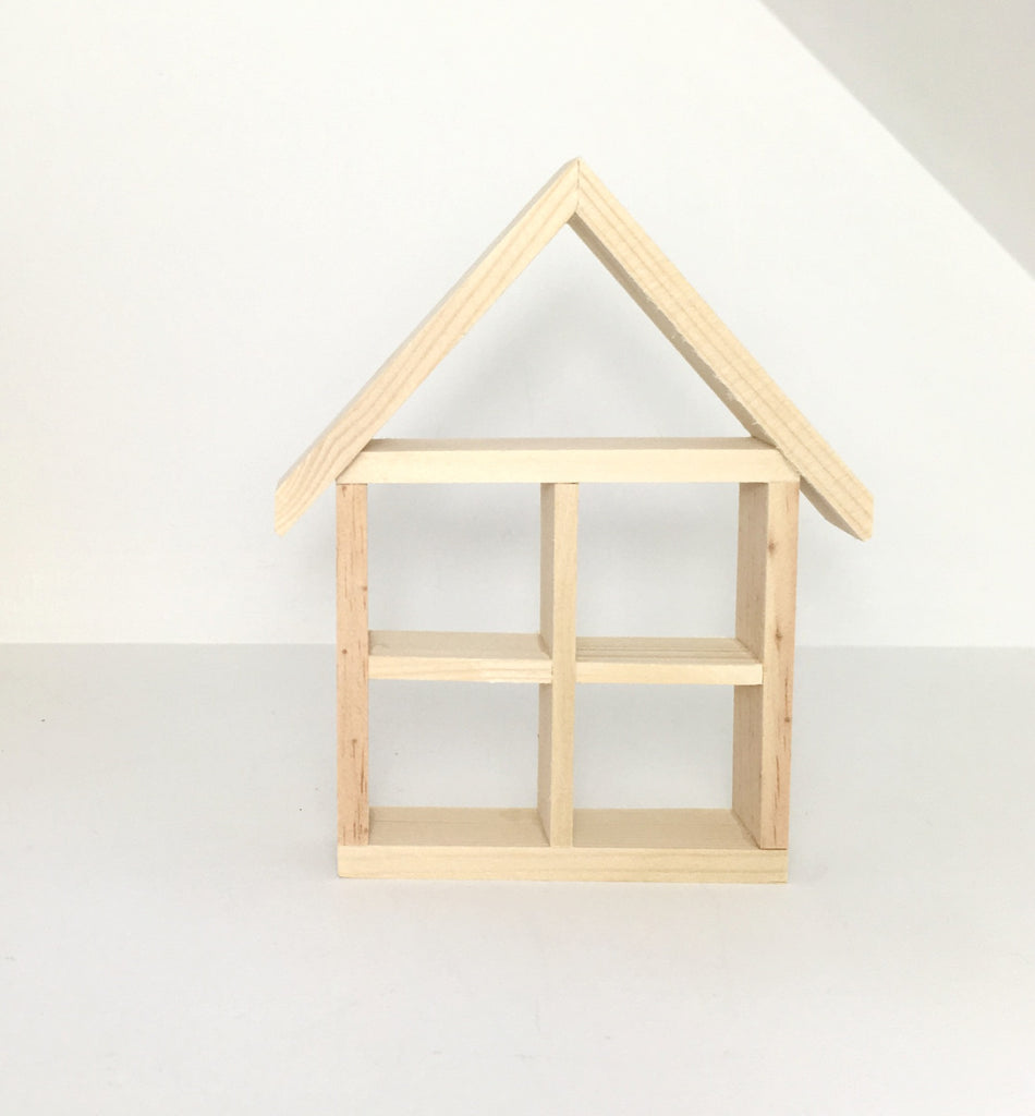 Miniature House Shelf